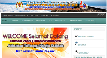 Department of Labour Sabah